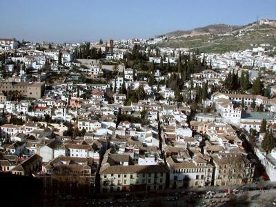 Granada a pincel
